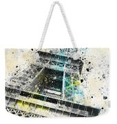City-art Paris Eiffel Tower Iv Weekender Tote Bag