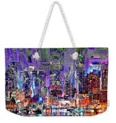 City Art Syncopation Cityscape Weekender Tote Bag
