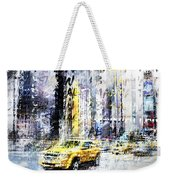 City-art Times Square Streetscene Weekender Tote Bag