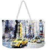 City-art Times Square Streetscene Weekender Tote Bag