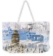 City Art Westminster Collage Weekender Tote Bag