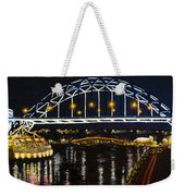 City At Night Weekender Tote Bag