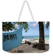 City Beach Weekender Tote Bag