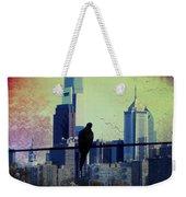 City Bird Weekender Tote Bag