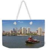 City - Camden Nj - The City Of Philadelphia Weekender Tote Bag