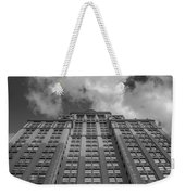 City Canyon Black And White Weekender Tote Bag