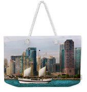 City - Chicago - Cruising In Chicago Weekender Tote Bag