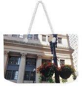 City Flowers Weekender Tote Bag