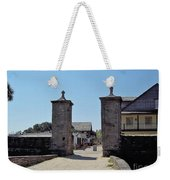 City Gate Of St Augustine Weekender Tote Bag