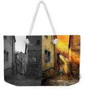 City - Germany - Alley - The Farmers Wife 1904 - Side By Side Weekender Tote Bag
