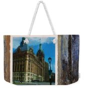 City Hall And Street Lamp Weekender Tote Bag