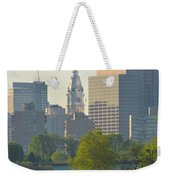 City Hall From The Schuylkill River Weekender Tote Bag