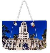 City Hall La Weekender Tote Bag