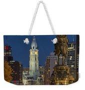 City Hall Philadelphia Weekender Tote Bag