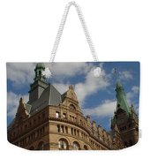 City Hall Roof And Tower Weekender Tote Bag