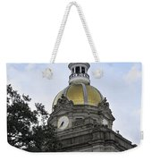 City Hall Savannah Weekender Tote Bag