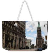 City Hall View From South Weekender Tote Bag