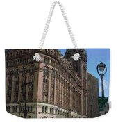 City Hall With Street Lamp Weekender Tote Bag