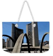 City Halll Arches Weekender Tote Bag