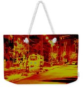 City In Red Weekender Tote Bag