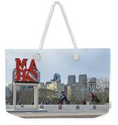 City Life - The Philadelphia Art Museum Weekender Tote Bag