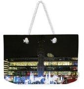City Lights 2 Weekender Tote Bag