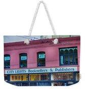 City Lights Booksellers Weekender Tote Bag