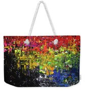 City Lights Weekender Tote Bag by Jacqueline Athmann
