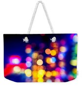 City Lights Weekender Tote Bag