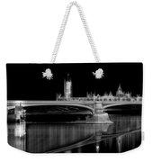 City Lights London Weekender Tote Bag