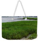 City Marina Marsh View Weekender Tote Bag