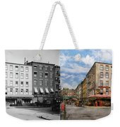 City - New York Ny - Fraunce's Tavern 1890 - Side By Side Weekender Tote Bag