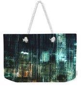 City Night Lights Weekender Tote Bag