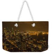 City Night Weekender Tote Bag