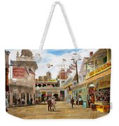 City - Ny - The Great Steeplechase 1903 Weekender Tote Bag
