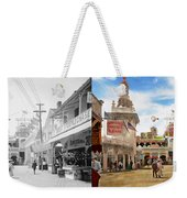City - Ny - The Great Steeplechase 1903 - Side By Side Weekender Tote Bag