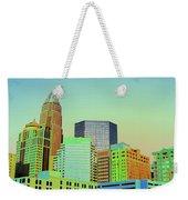 City Of Colors Weekender Tote Bag by Karol Livote