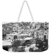 City Of David Bethlehem Weekender Tote Bag by Munir Alawi