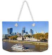 City Of London 12 Weekender Tote Bag