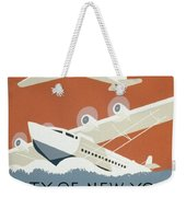 City Of New York Municipal Airports Weekender Tote Bag