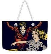 City Of The Living Dead Comic Book Poster Weekender Tote Bag