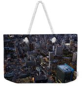 City Of Toronto Downtown After Sunset Weekender Tote Bag