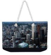 City Of Toronto Downtown Weekender Tote Bag