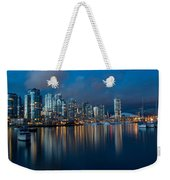 City Of Vancouver British Columbia Canada Weekender Tote Bag