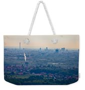 City Of Zagreb Panoramic Aerial View Weekender Tote Bag