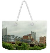 City - Pittsburgh Pa - The Grand City Of Pittsburg Weekender Tote Bag