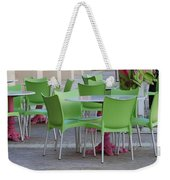City Place Seats Weekender Tote Bag