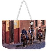 City Riding Weekender Tote Bag