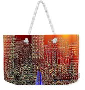 City Sailin Weekender Tote Bag