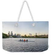 City Skyline - Philadelphia On The Schuylkill River Weekender Tote Bag